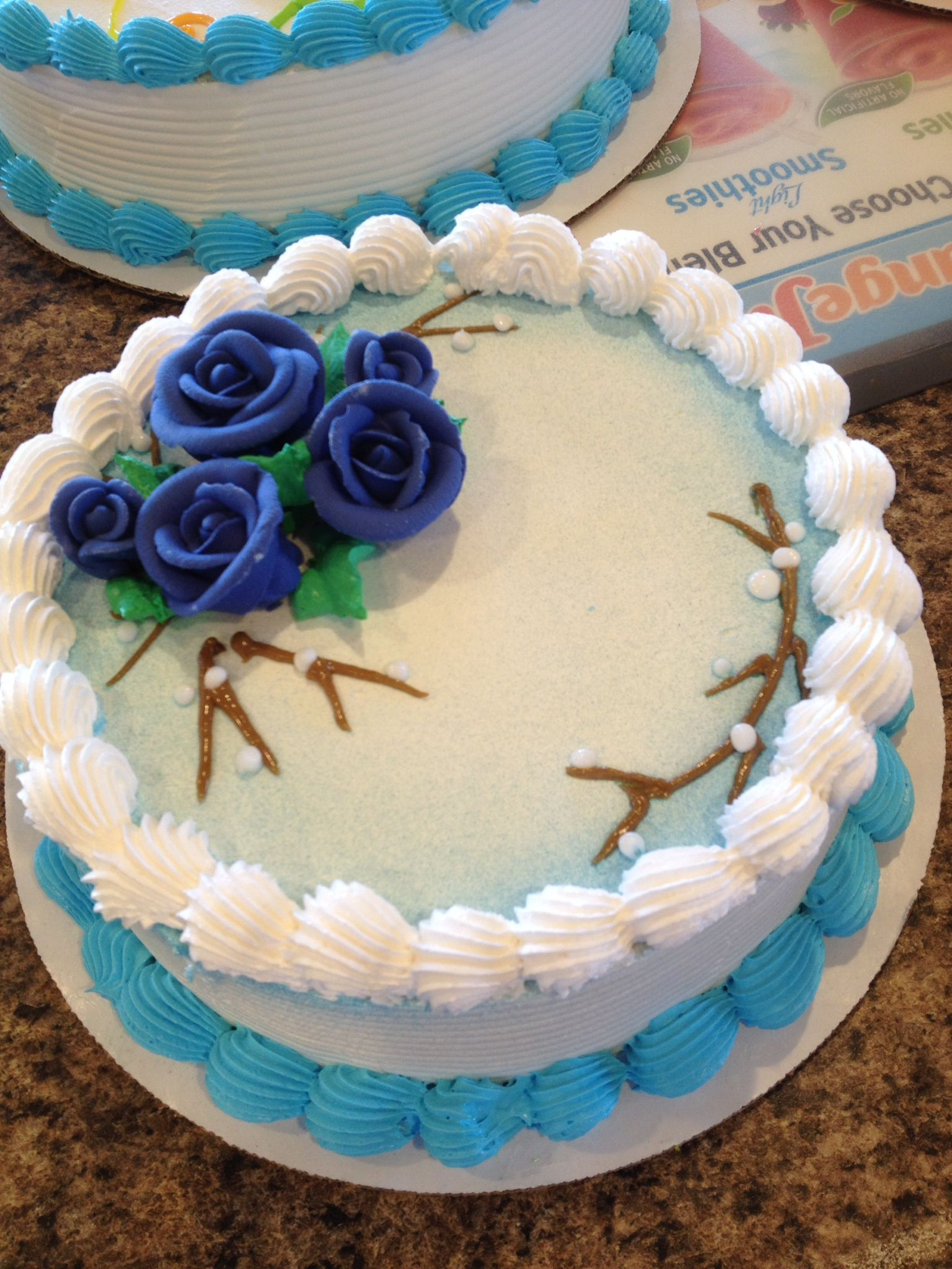 Dq cakesdairy queen simple birthday cake cake