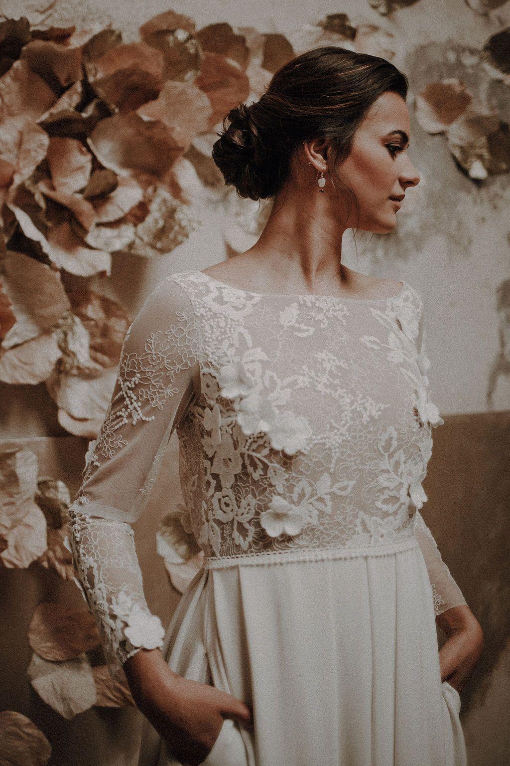17++ Coiffure mariage avec robe longue idees en 2021