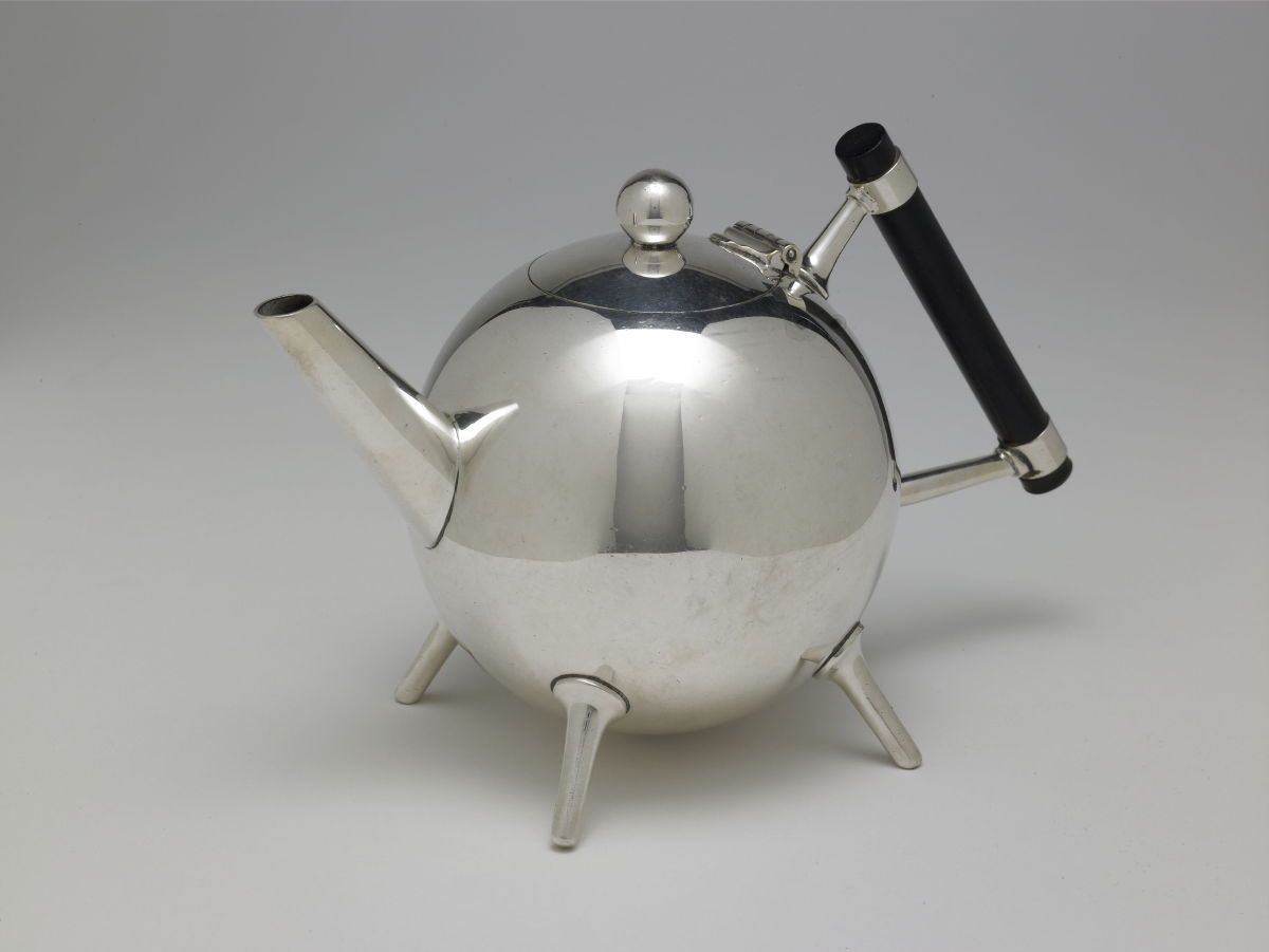 Tea Service Lidded Teapot Dr Christopher Dresser 1880 James Dixon And