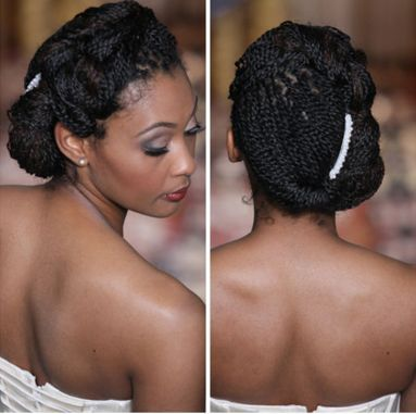 17 Awesome Natural Hairstyles For Weddings Natural Hair Bride Natural Hair Styles Natural Wedding Hairstyles