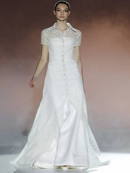 Vestido de novia Rosa Clará 2013