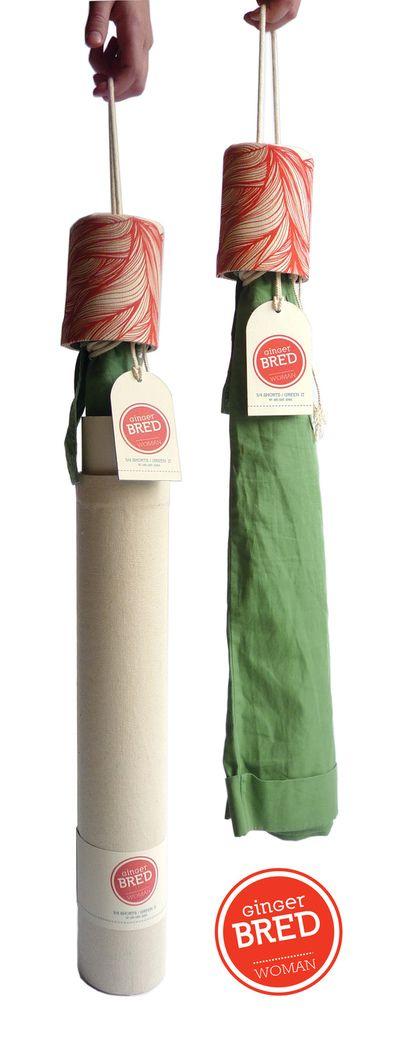 Ginger Bred Packaging by Jo Chevalier, via Behance