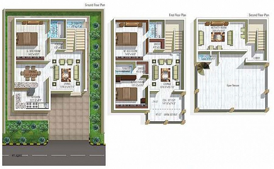 Small Duplex House Plans In India