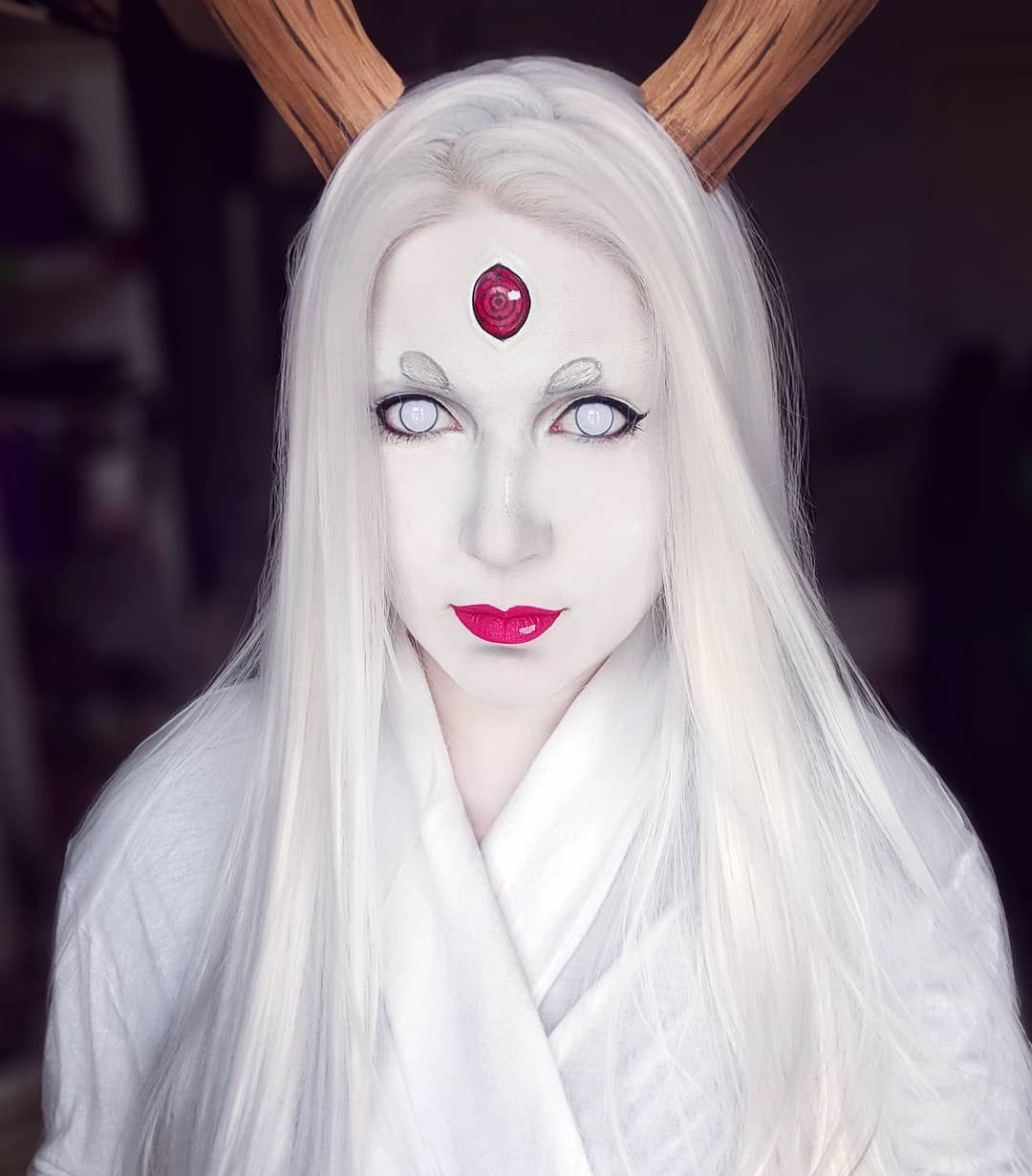 Kaguya Otsutsuki makeup look from Naruto  cosplay  cosplaymakeup ... df11d039e6