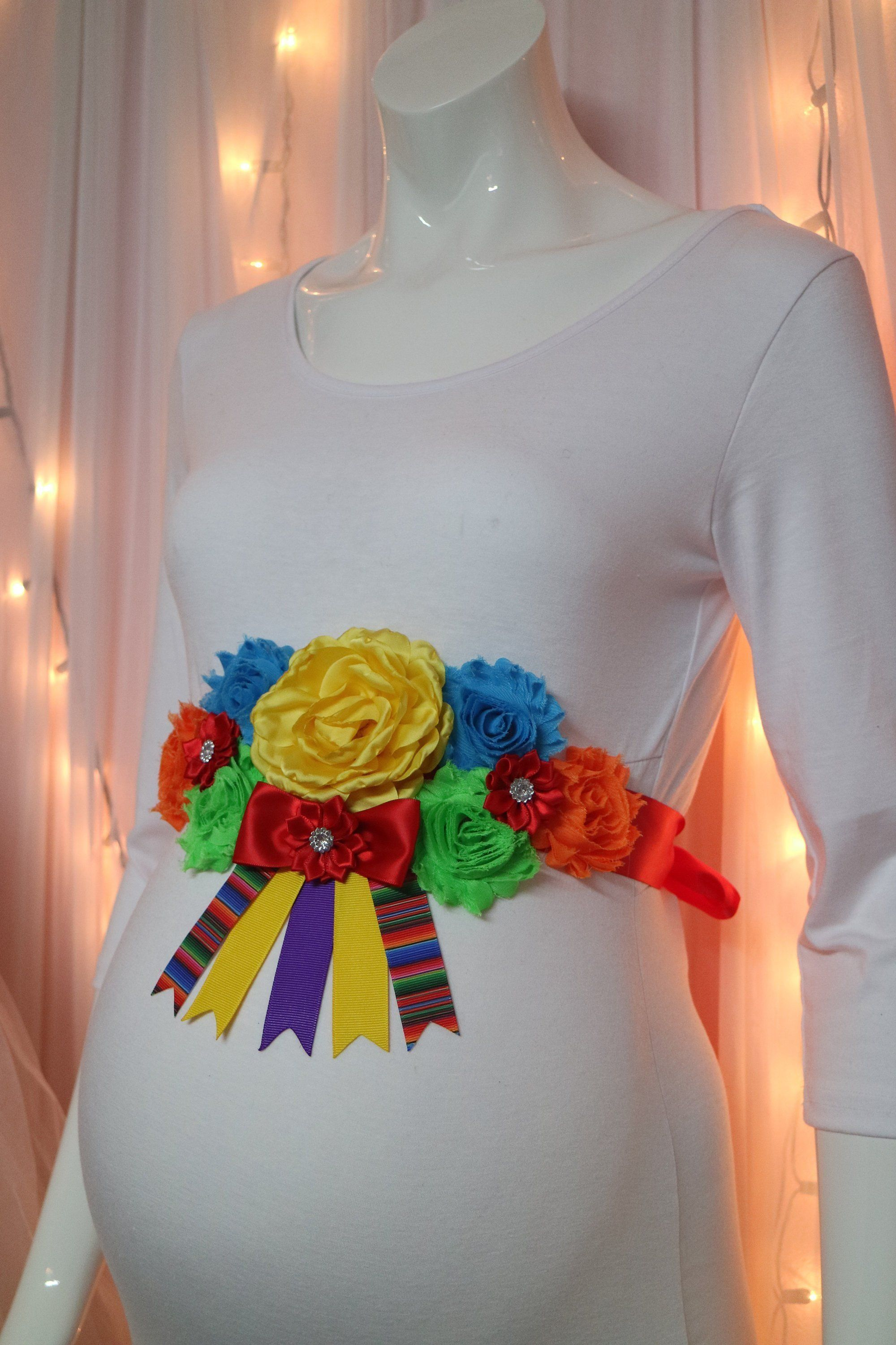 Fiesta Mexican Baby Shower Themed Mommy To Be Baby Shower Corsage