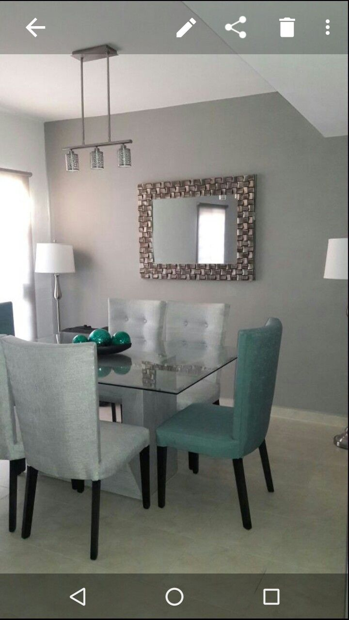 Decoraci n plata sala gris en 2019 pinterest for Decoracion de comedor con espejos