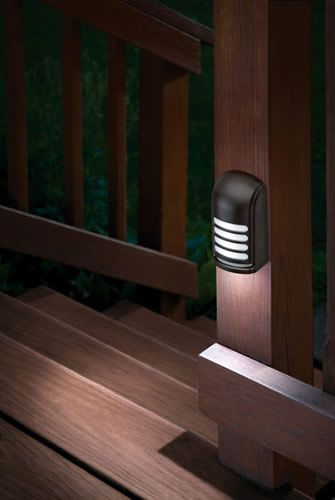 Led Motion Sensing Deck Lights Handy When Guests Come Over Repinned For The Design