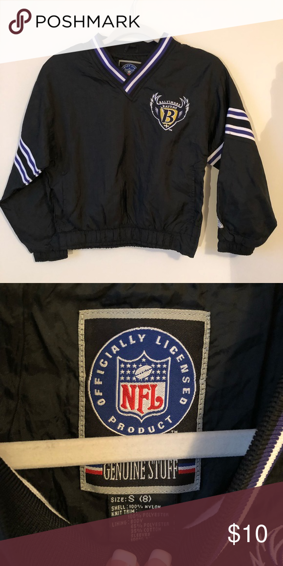 2d9e38bb Kids Baltimore ravens rain slicker Great condition! Official NFL ...