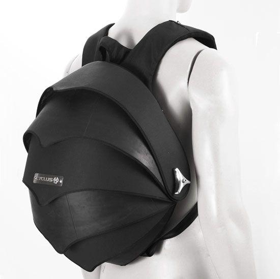 Pangolin Backpack Design De Mode Sac Et Pneus Recycles