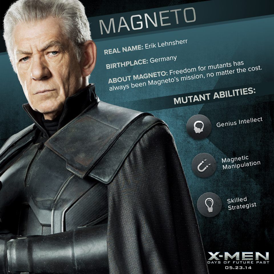 Magneto X Men Erik Lehnsherr Men
