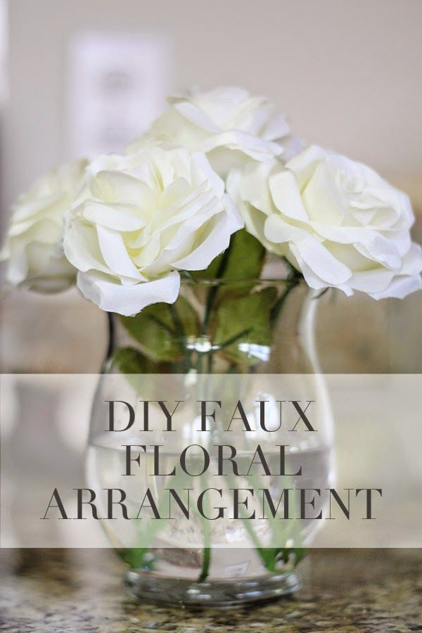 Diy tutorial silk floral arrangement crafts and jewelry making a diy tutorial project on how to make a silk flower arrangement for your home mightylinksfo