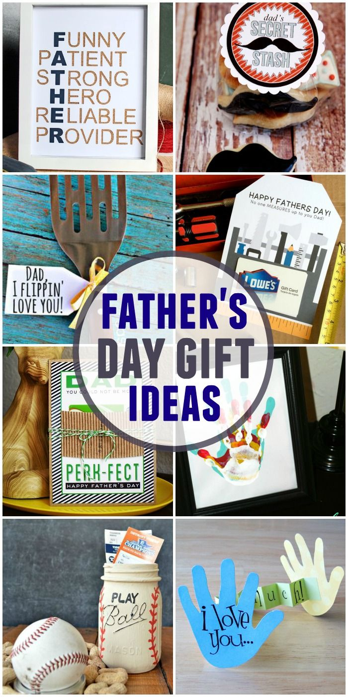 A roundup of awesome Father's Day gifts!! Lots of cute ...