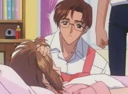 Sakura and her dad