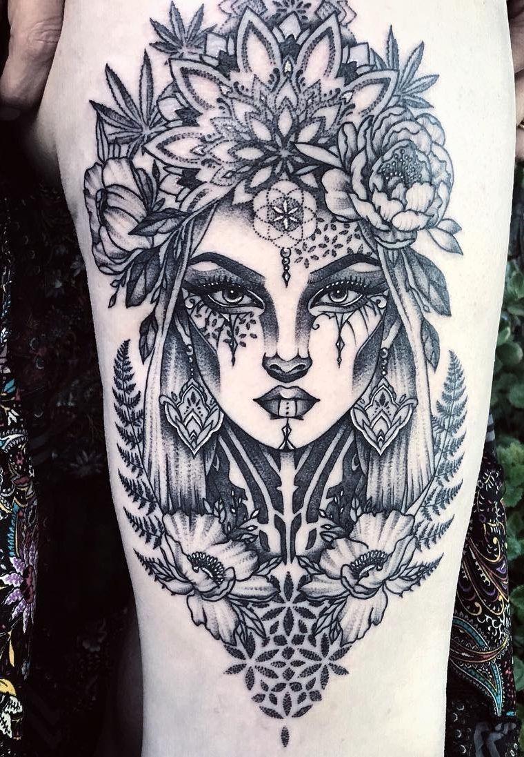 Elegir Tu Salon De Tatuajes: 50 De Los Diseños De Tatuajes Mandala Más Bellos Para Tu