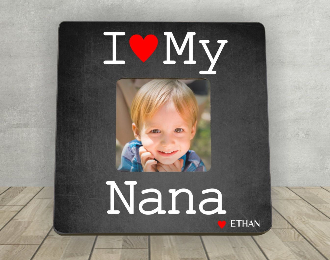 Gift For Nana Mothers Day Gift For Nana Personalized Picture
