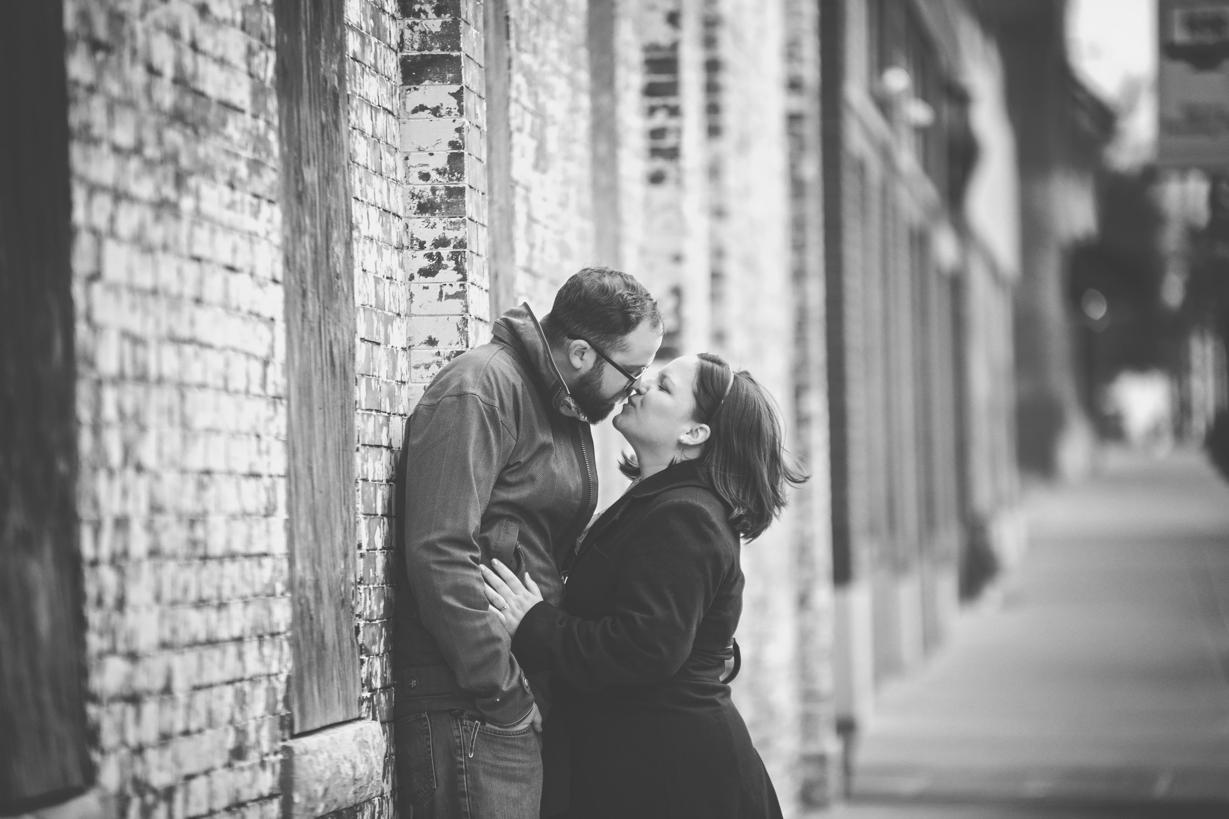 Stacy Blake S Downtown Springfield Mo Engagement Photographer