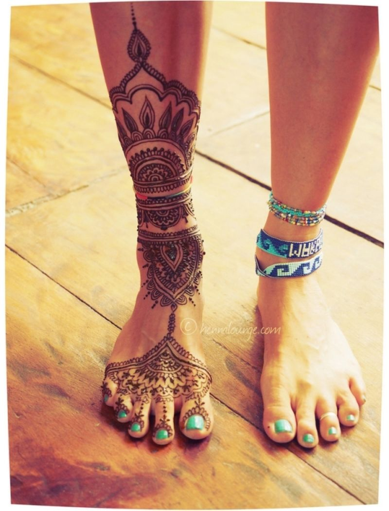 35 Unglaubliche Henna Tattoo Design Inspirationen Tattoos