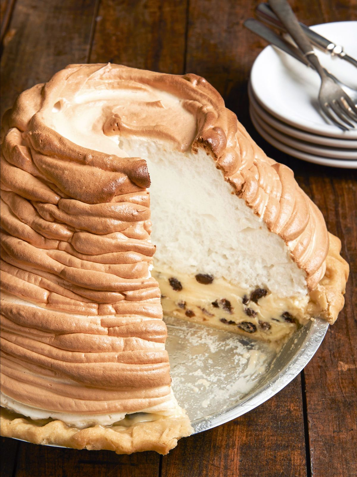 Norske Nook Pies Take Center Stage In New Cookbook Sour Cream Raisin Pie Raisin Pie Raisin Pie Recipe