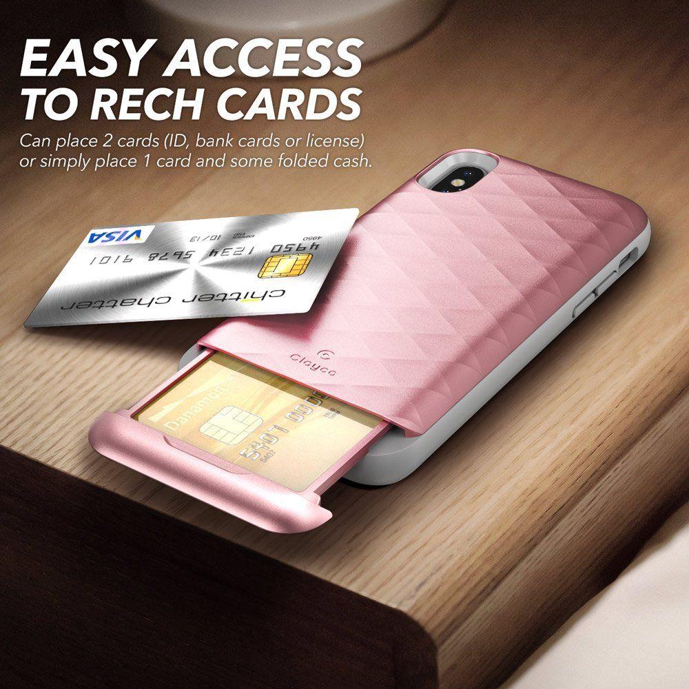 Iphone X Case Clayco Argos Series Premium Hybrid Protective