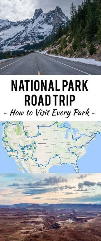 The Ultimate National Park Road Trip Across America (Visit Them All!)