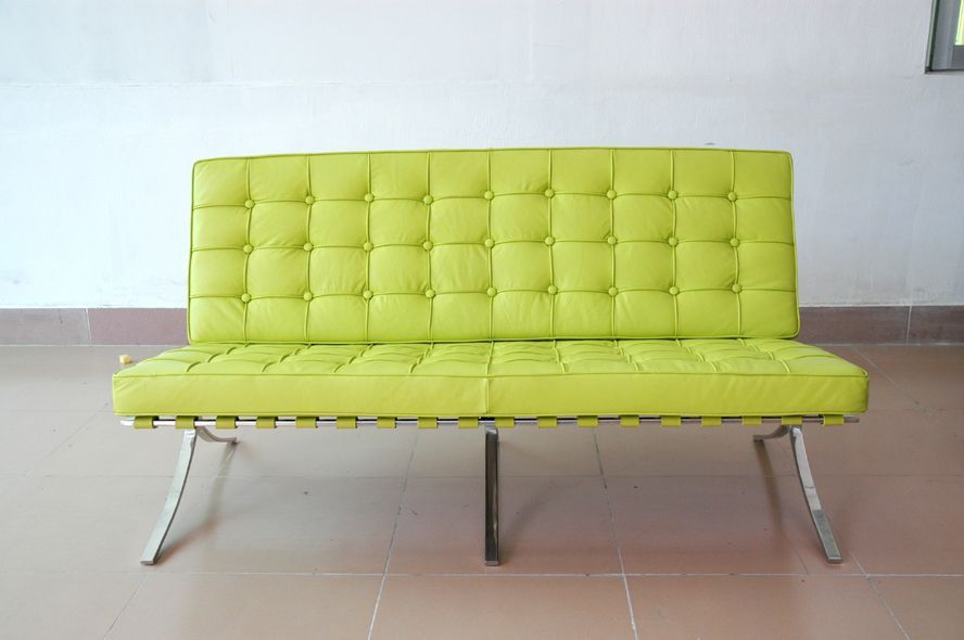 Lime Green Leather Furniture Lime Green Leather Sofa