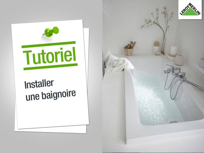 Marche Pour Monter Dans Baignoire putting in a bathtub -- leroy merlin | baignoire leroy merlin