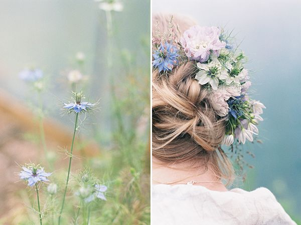 Isn't love-in-a-mist beautiful? | Photo by Fine Art Photography by Taylor & Porter
