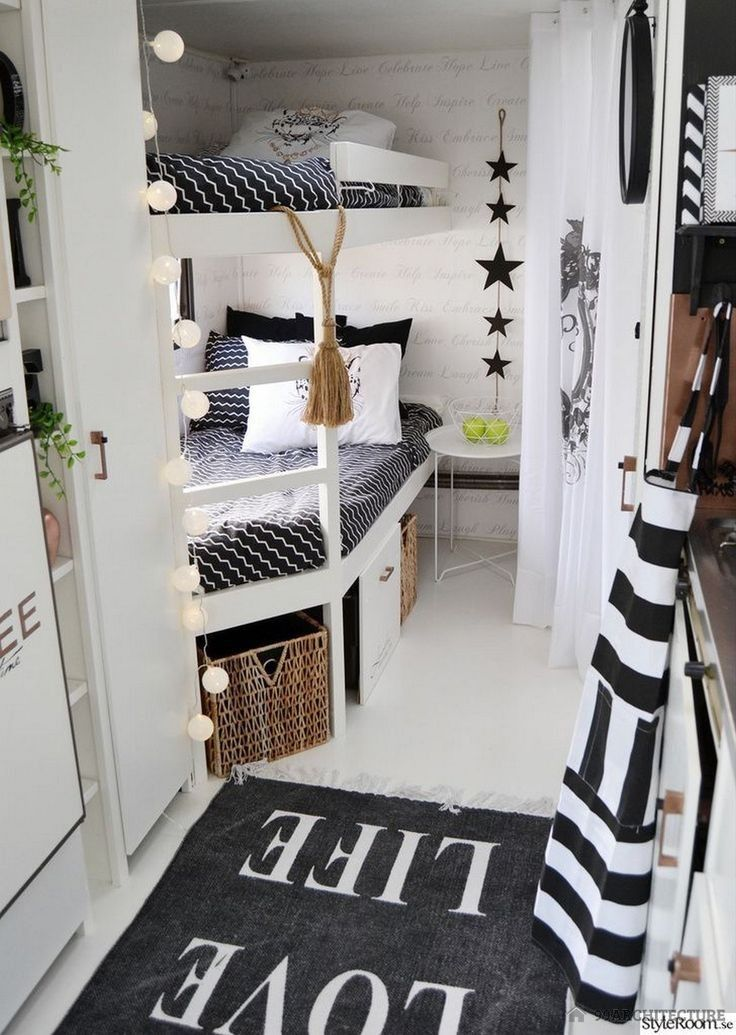15+ Cute Bedroom Interior Ideas for Camper Remodeled