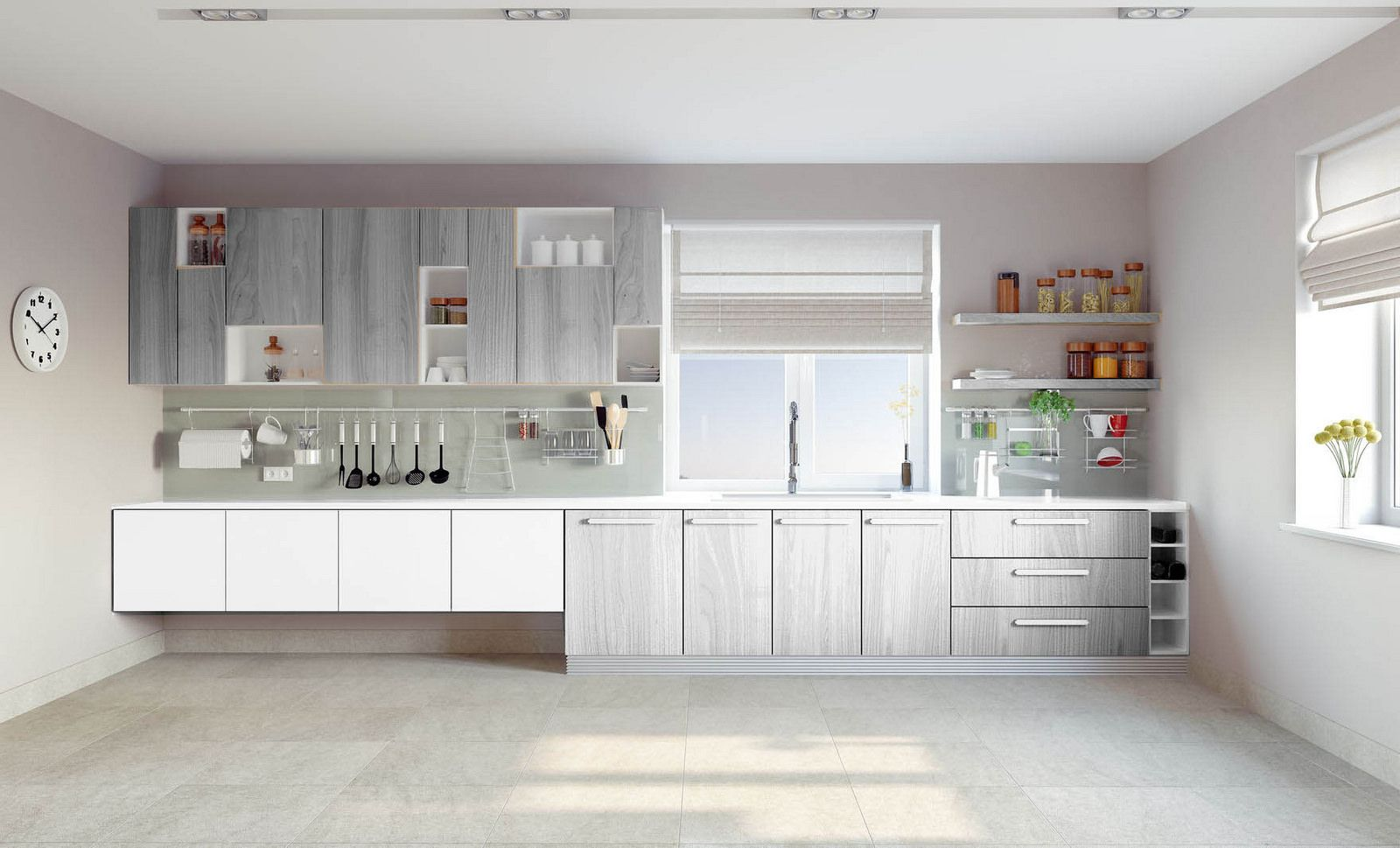 מטבח מודרני דגם אלמוג בלעדי Kitchenpt Com מטבחים בעיצובים מודרניים חדשים Kitchenpt Com Kitchen Cabinets Kitchen Home Decor