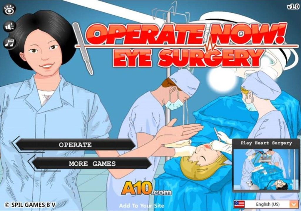 Eye Surgery Click to Play Game Games to play, Eye