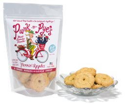 Punk' N Pyes are a great healthy dog treat these are Yammin Apples