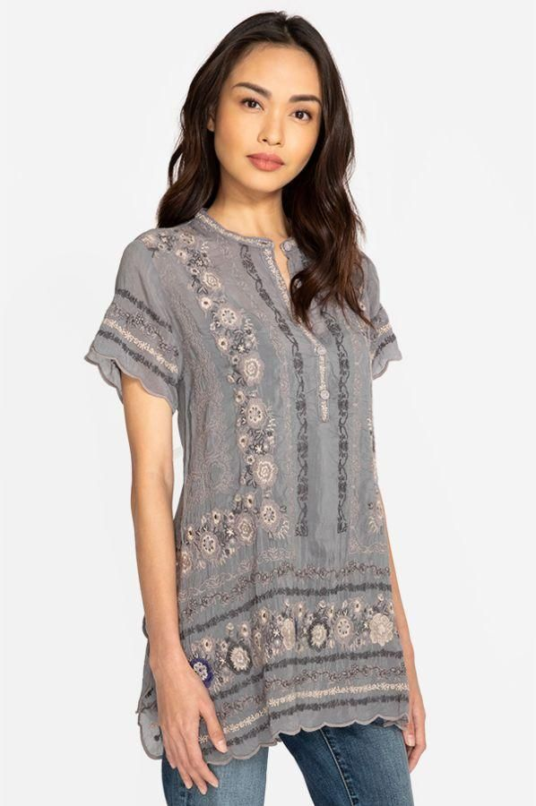 Best Johnny Was Kones Cloudburst Grey Tunic Johnny Was 400 x 300