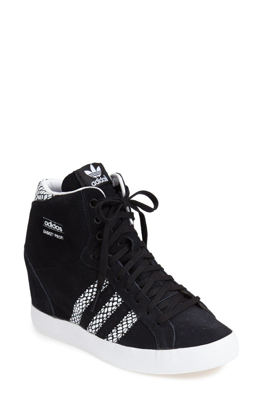 c26a83025494 Free shipping and returns on adidas Hidden Wedge Sneaker (Women) at  Nordstrom.com. A sueded shoe with a high hidden wedge takes  basketball-inspired style to ...