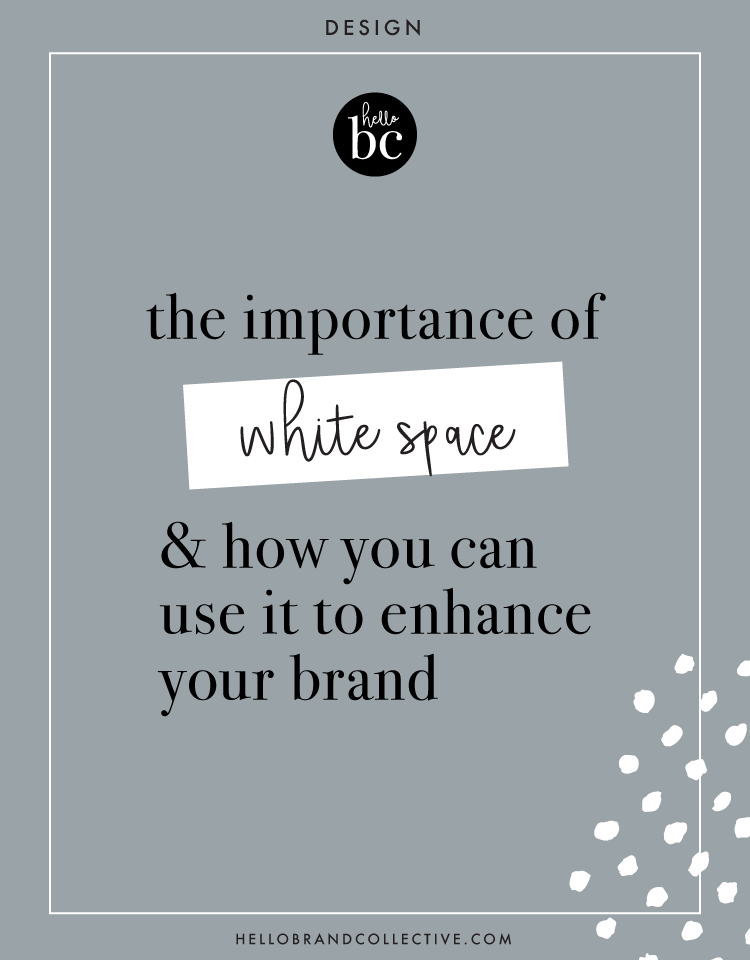 The Importance Of White Space And How You Can Use It To Enhance Your Brand White Space Fun Website Design Brand Style Guide