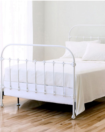 ef4ad9f58f2c The Friday Five: Iron Bed Frames | BEDROOM MAKEOVER | Iron headboard ...