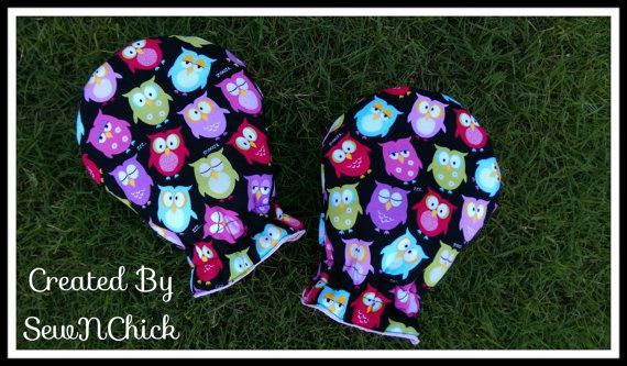 Custom OWL Medical Stirrup Covers by SewNChick on Etsy