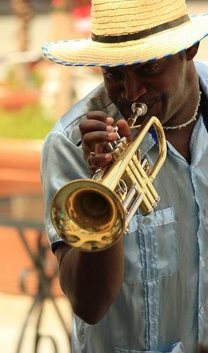Trumpeter, Cuba, bu Locally Sourced Cuba Tours   locallysourcedcuba.com.