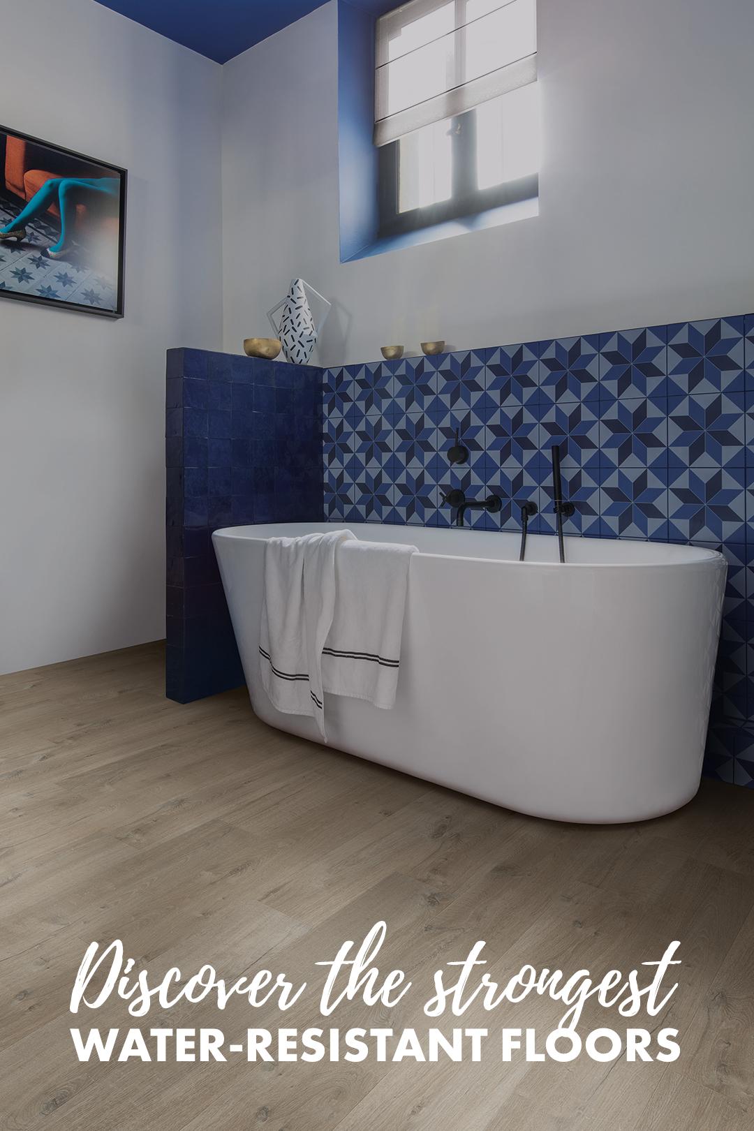 Choose The Perfect Bathroom Floor Quick Step Co Uk Best Vinyl Flooring Bathroom Design Decor Luxury Bathroom