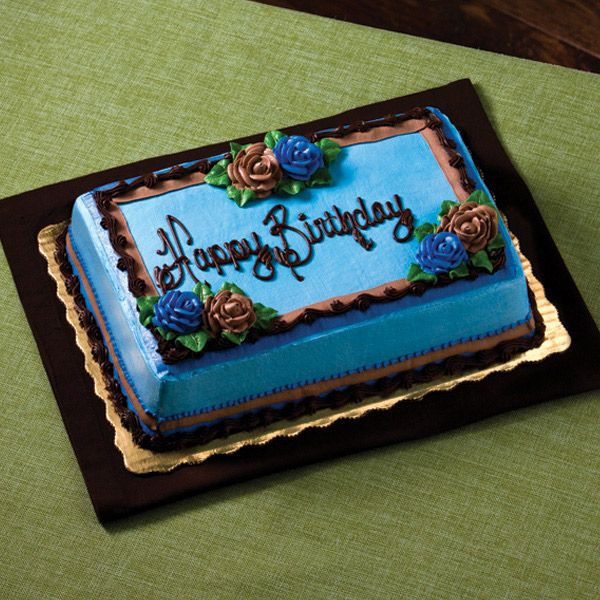 Awesome B Day Cake Floral Design Chocolate Roses Via Publix Birthday Personalised Birthday Cards Veneteletsinfo