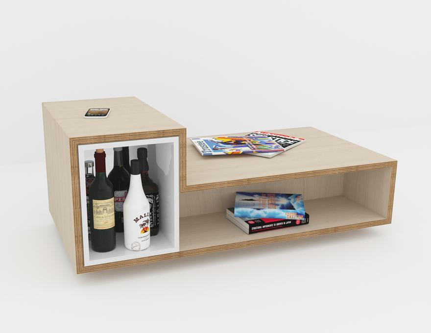 meuble couleur bouleau interesting cuisine avec ilot. Black Bedroom Furniture Sets. Home Design Ideas