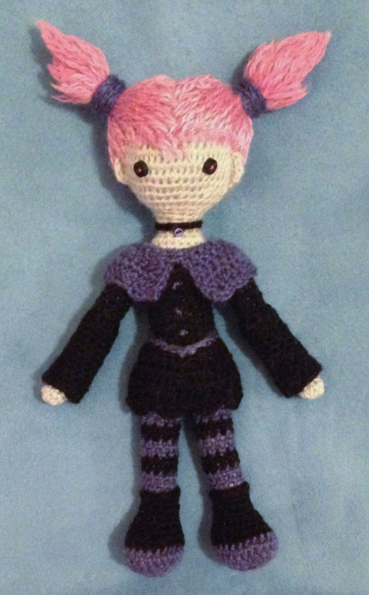 Teen Titans amigurumi - Jinx | Cool Crafts | Pinterest