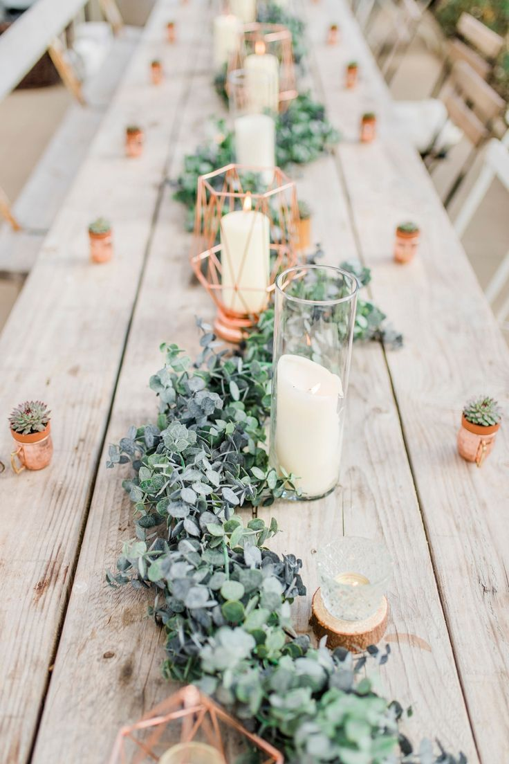 Greenhouse Wedding Ideas at the Secret Herb Garden   Greenhouse wedding,  Table runners wedding, Greenery wedding