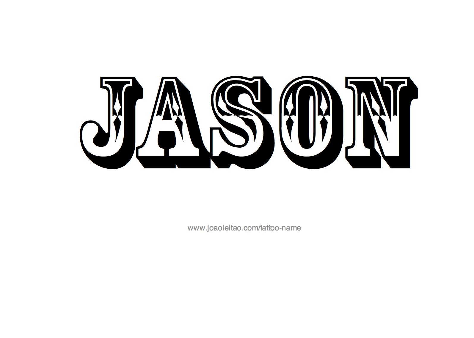 Jason Name Tattoo Designs Senior Posters Name Tattoo Designs Name Tattoo