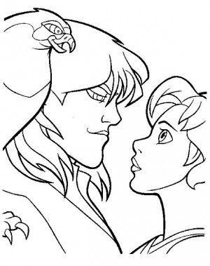 Excalibur Coloring Page 13 Quest For Camelot Coloring Pages Disney Coloring Pages