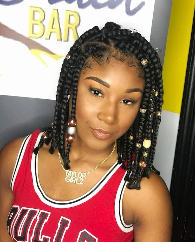 Ti from Taylor Girlz is a LOOK | A look | Braids, Box ...