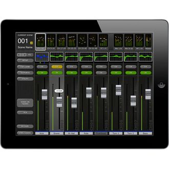 The Yamaha M7CL StageMix app is an application for the