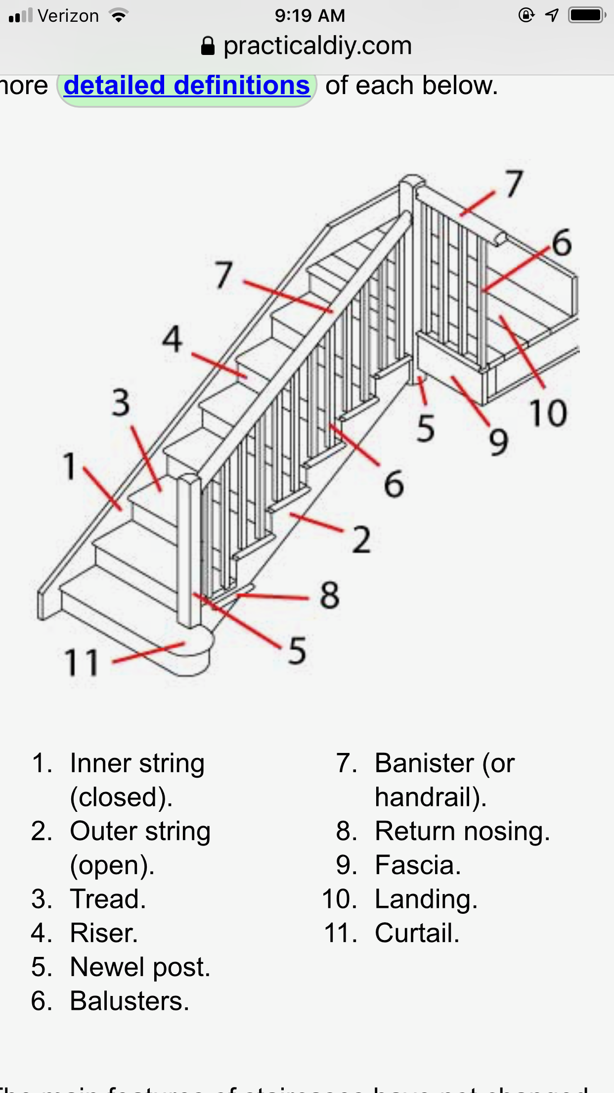 stairs diagram bannister table line chart ladder staircases tables [ 1242 x 2208 Pixel ]