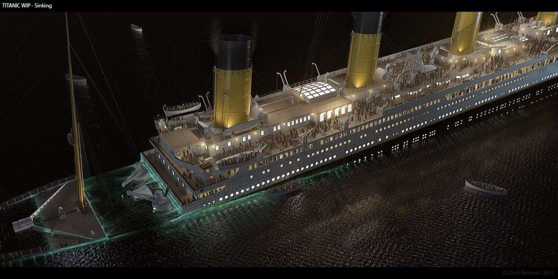 Titanic Sank Barcos Modelos A Escala Barcos Modelo A Escala