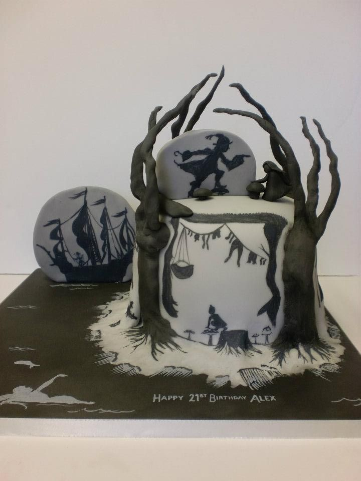 Peter Pan Cake by FairyCakes and Faces