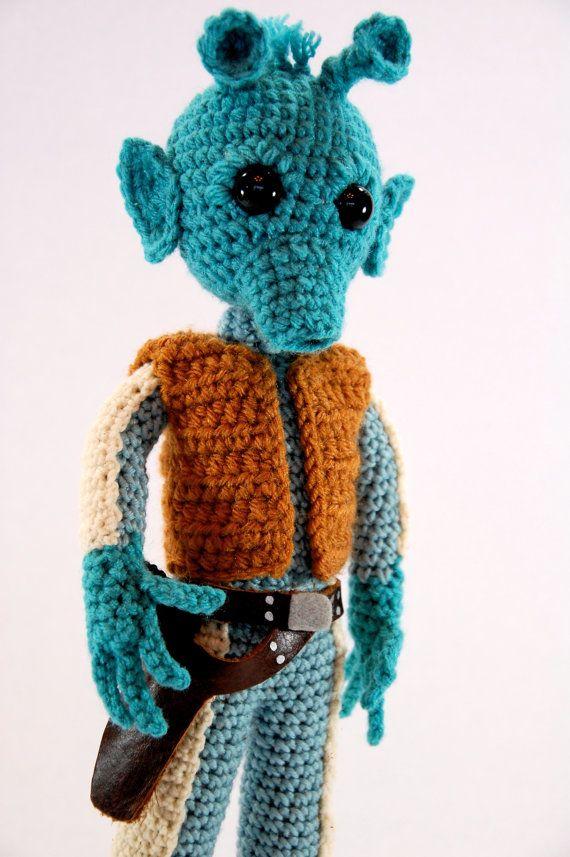 Greedo Star Wars Amigurumi Crochet Pattern by craftyiscoolcrochet ...